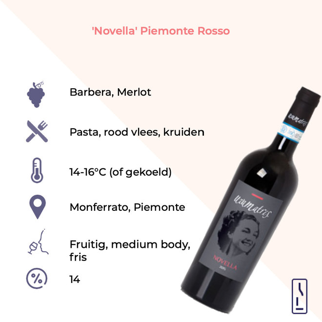 'Novella' Piemonte Rosso 2019