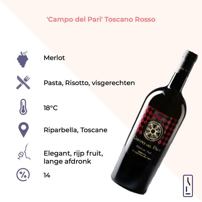 'Campo del Pari' Toscano Rosso