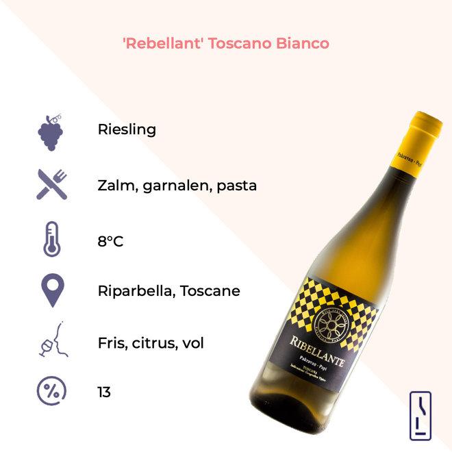 'Ribellante' Toscano Bianco