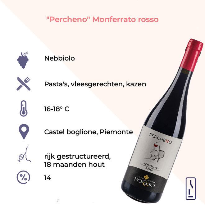 """""""Percheno"""" Monferrato Rosso DOC 2017"""