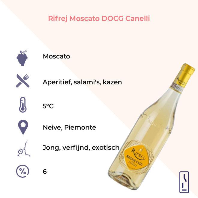 Rifrej Moscato DOCG Canelli