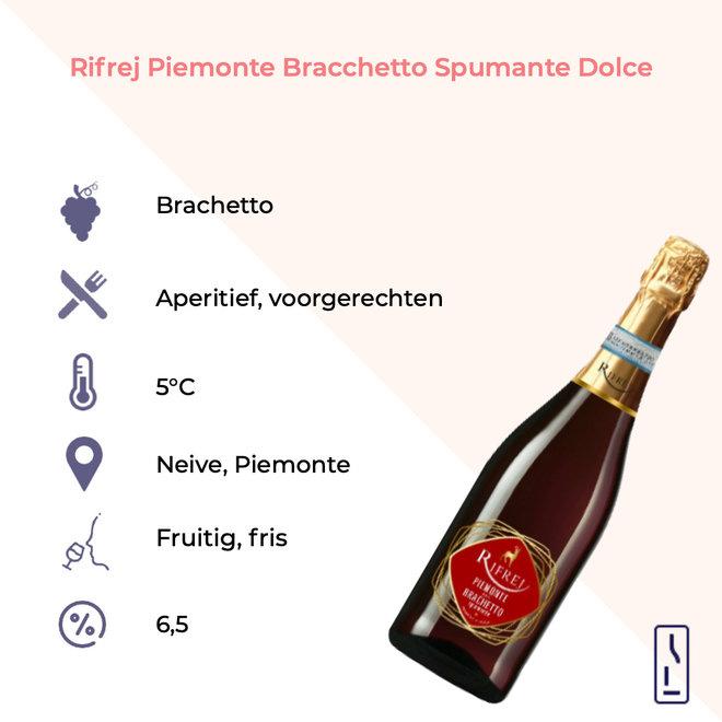 Rifrej Piemonte Bracchetto Spumante Dolce