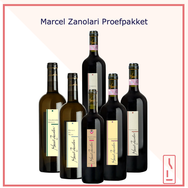 Marcel Zanolari Proefpakket
