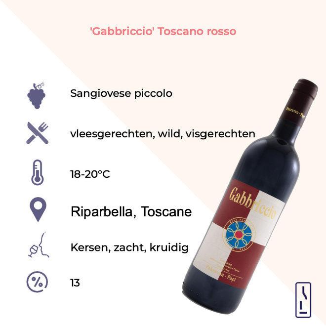 'Gabbriccio' Toscano Rosso