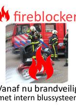 Fireblocker - intern brandblussysteem voor scootmobielen