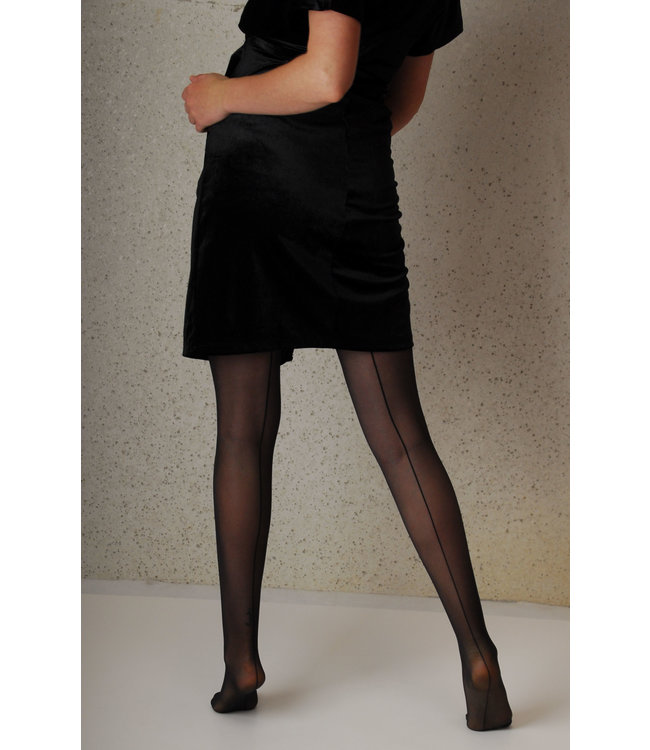 Mamsy Maternity Tights 20den with sexy back stripe