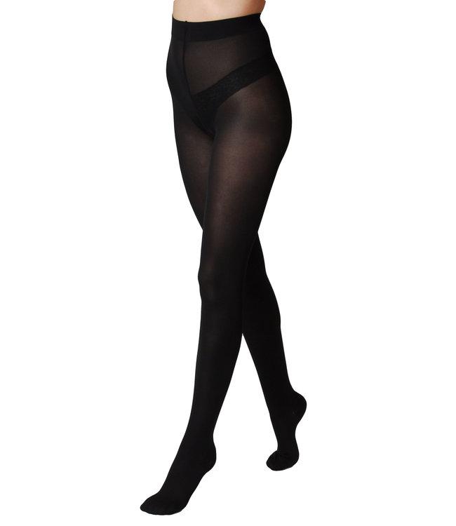 Segreta Young Coprente 70 Panty met medium compressie - Zwart