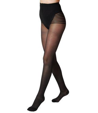 Segreta Silhouette 70 DERM® Panty met Medium Compressie - Zwart