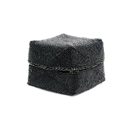 The Beaded Basket - Black - M