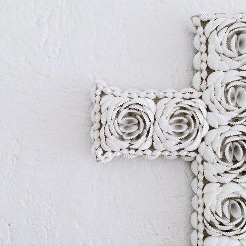 The Shell Cross - White - M