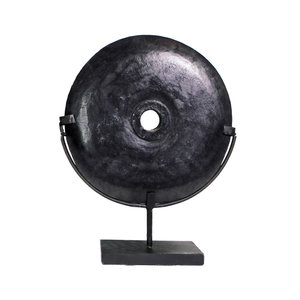 The Black River Stone on Stand