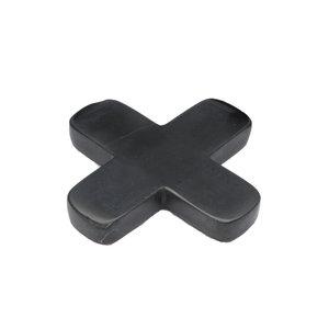 The Marble Pan Coaster zwart