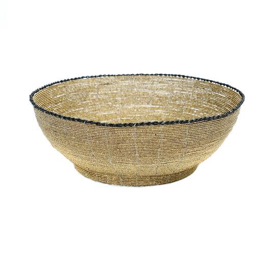 The Beaded Fruit Platter - Gold