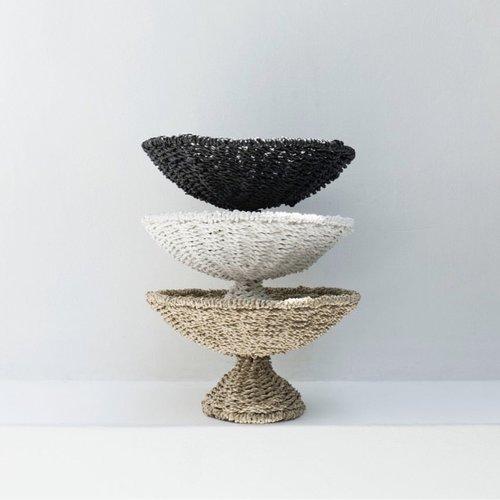 The Seagrass Fruit Platter - Black