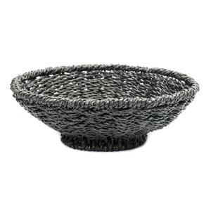 The Porto Seagrass Bowl zwart