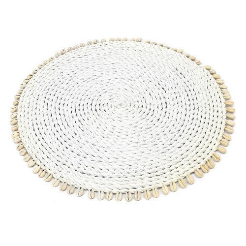 The Seagrass Shell Placemat wit