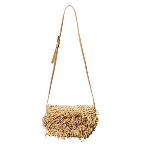 The Raffia Bahamas Purse - Natural