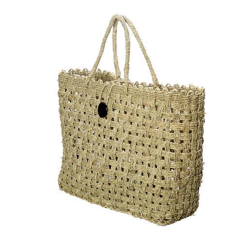 The Coconut Button Market Basket - Natural - L