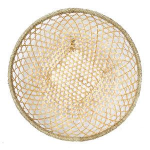 The Bamboo Wall Basket