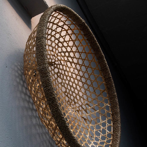 The Bamboo Wall Basket - Natural