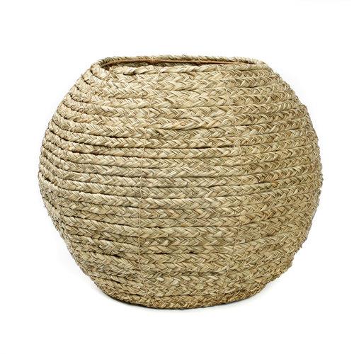 The Antigua Hyacinth Basket - Natural