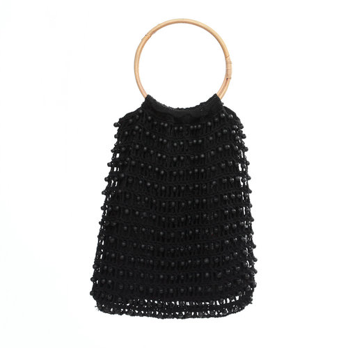 The Night in Night out Tote - Black