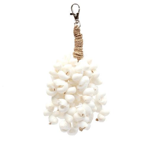 The Kai Shell Keychain - White