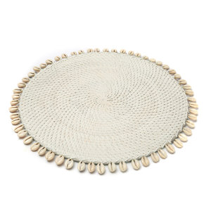The Cowrie Placemat wit