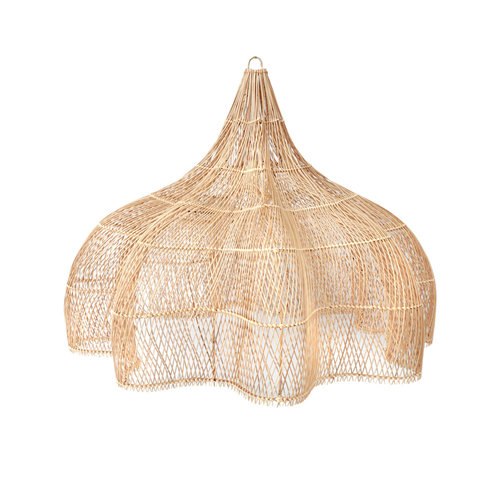 The Rattan Whipped Pendant - Natural - XL