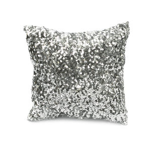 The Glitter Cushion silver