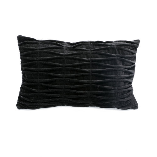 The Fringed Velvet Cushion