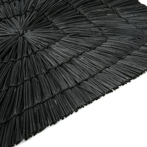 The Alang Alang Placemat - Rectangular - Black