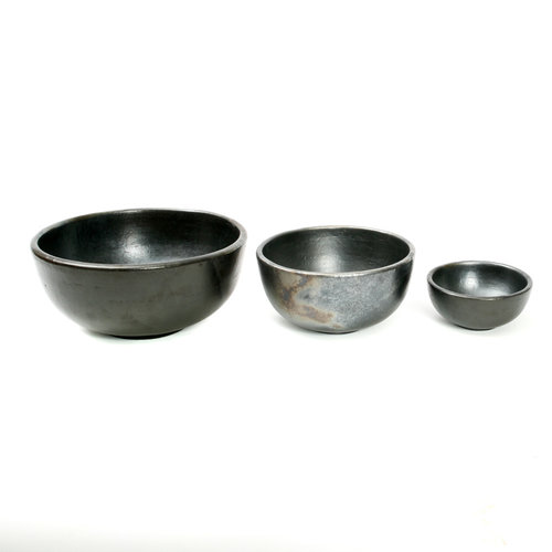 The Burned Bowl - Black - S