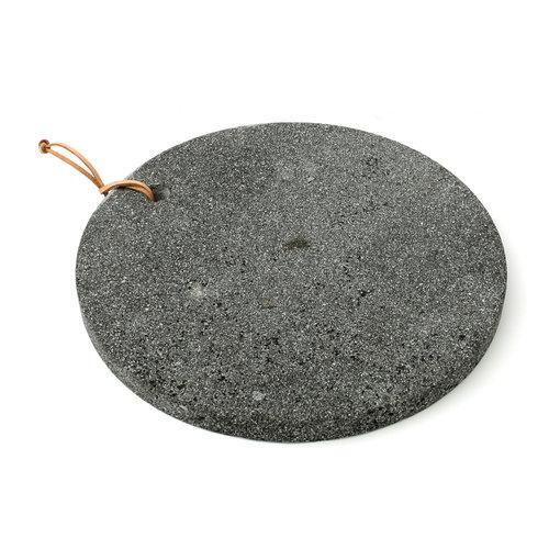 The Lava Stone Cutting Board - Black