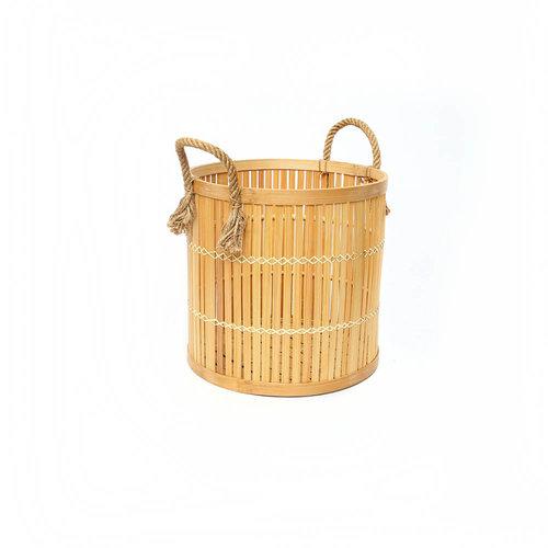 The Bamboo Baskets - Natural - Small