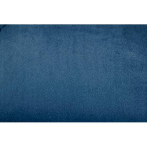 Leaf Hoge Barkruk - Velvet - Blauw - set van 2