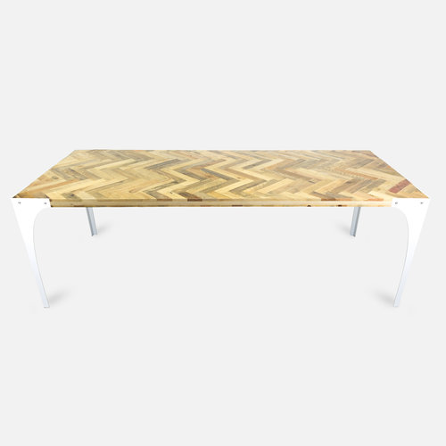 Abello Table - Pallethout - Visgraat