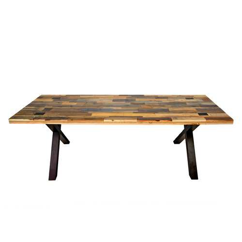 Abello Table - Pallethout - Kruispoot