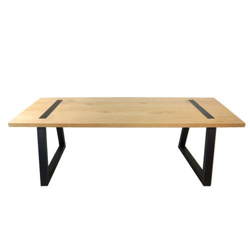 Abello Table - Eikenhout - Trapeziumpoot
