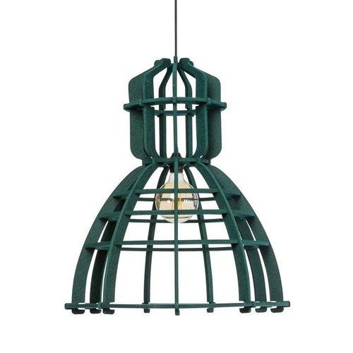 No.19XL - Hanglamp - Bruin & Groen