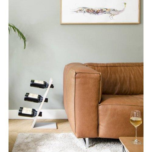 Compact 6 - Wijnrek - Grijs