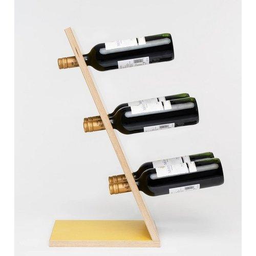 Compact 6 - Wijnrek - Geel