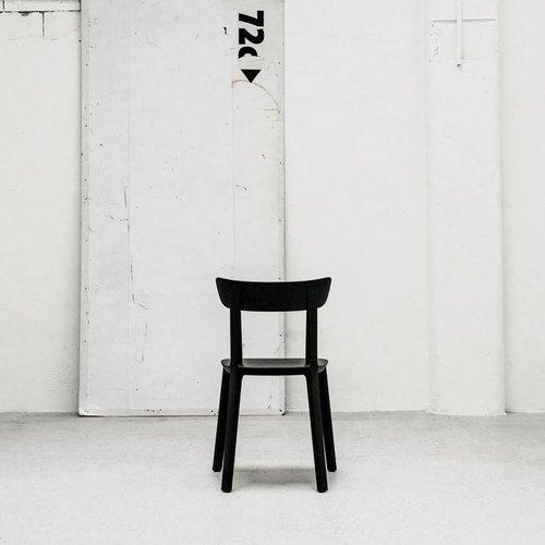 Cadrea Stoel - Kunststof - Zand & Grijs