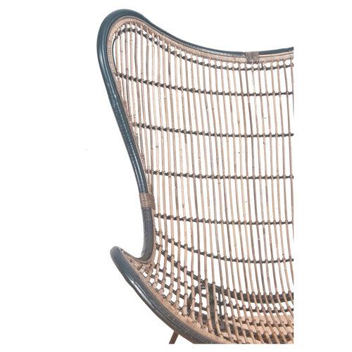 Horizon Rattan Vlinderstoel - Rotan