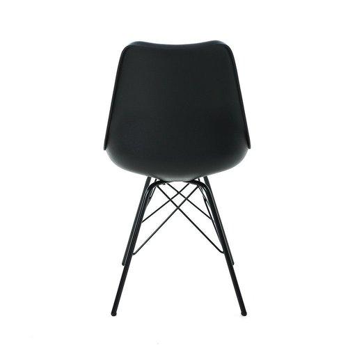 Poluga Stoel - Kunststof - Zwart & Wit