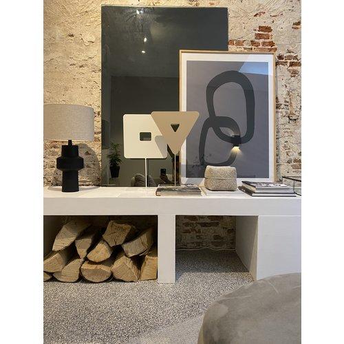 Design Van Rein Deco-Stand - Driehoek - Sand