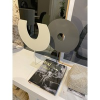 Deco-Stand - Rond - Satin Grey
