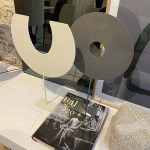 Design Van Rein Deco-Stand - Rond - Satin Grey