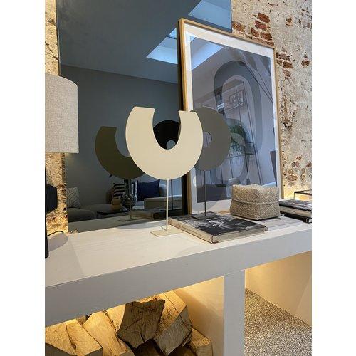 Design Van Rein Deco-Stand - Maan - Crème