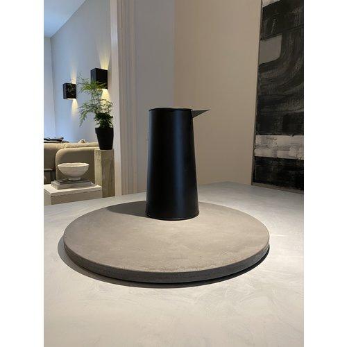 Design Van Rein Betonnen plateau grijs - Rond - XL